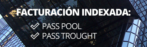 Facturación indexada: POOL vs TRHOUGHT